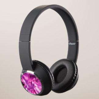 Abstract Flower Headphones