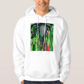 Abstract Flower Hoodie