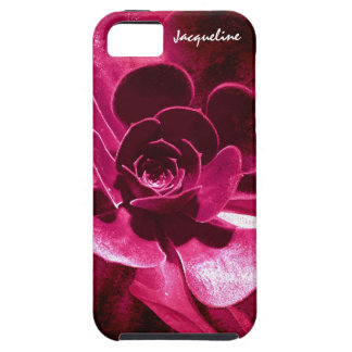 Abstract Flower - Hot Pink Petals iPhone 5 Cases