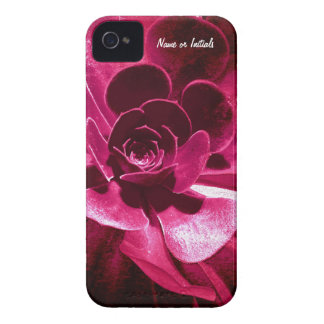 Abstract Flower - Hot Pink Petals Case-Mate iPhone 4 Cases