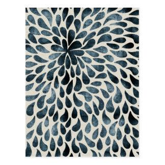 Abstract Flower Iamge Postcard