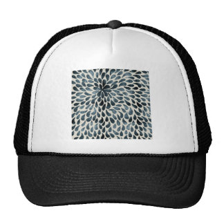 Abstract Flower Iamge Trucker Hat