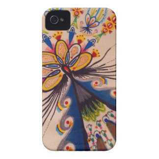 Abstract Flower iPhone 4 Case