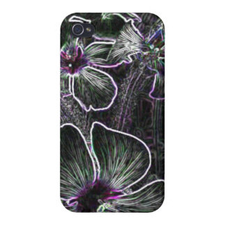 Abstract Flower iPhone 4 Covers