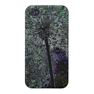 Abstract Flower Cover For iPhone 4