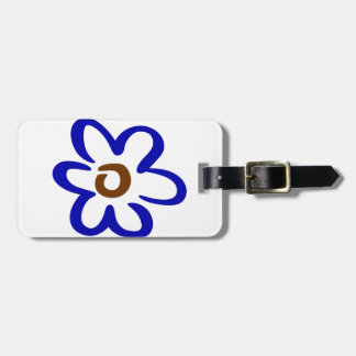 Abstract Flower Luggage Tag