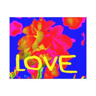 abstract flower magenta blue love copy.jpg canvas print