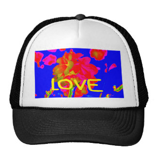 abstract flower magenta blue love copy.jpg trucker hat