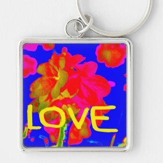 abstract flower magenta blue love copy.jpg keychains