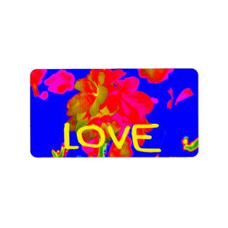 abstract flower magenta blue love copy.jpg address label