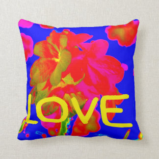 abstract flower magenta blue love copy.jpg throw pillow