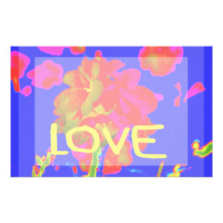 abstract flower magenta blue love copy.jpg custom stationery