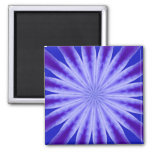 Abstract Flower Magnet