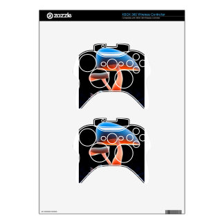 Abstract Flower Melting Mushrooms Xbox 360 Controller Skins