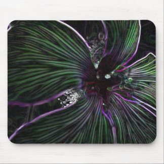 Abstract Flower Mouse Pad