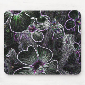 Abstract Flower Mouse Pads