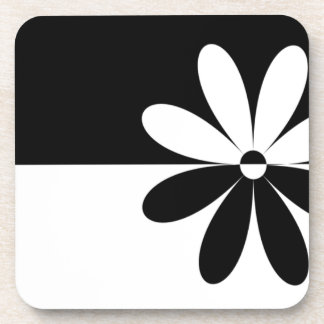 Abstract Flower Not That Different Coaster