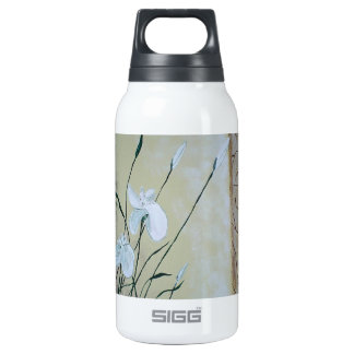 Abstract Flower Painting Insulated Water Bottle