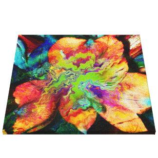 Abstract Flower (U) Canvas Print