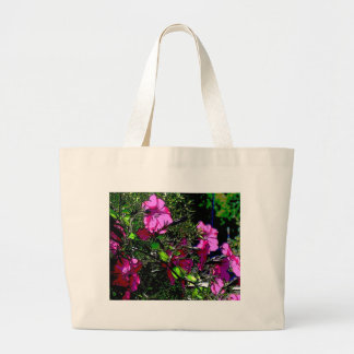 Abstract Flowers3 Large Tote Bag