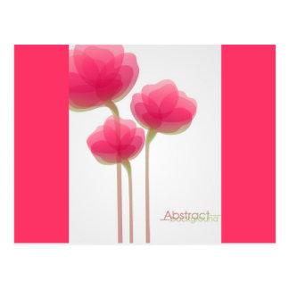 Abstract Flowers 111 Postcard