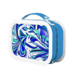 Abstract Flowers 3 Yubo Lunchbox