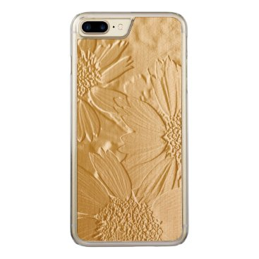 Beach Themed Abstract Flowers 4 Carved iPhone 7 Plus Case