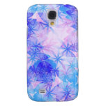 Abstract Flowers Apple 3G/3GS iPhone Case Samsung Galaxy S4 Cover