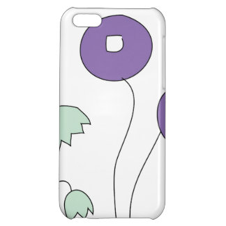 Abstract flowers case