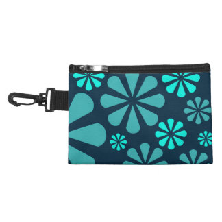 Abstract Flowers custom accessory bag