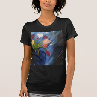 ABSTRACT FLOWERS IN VASE T-Shirt