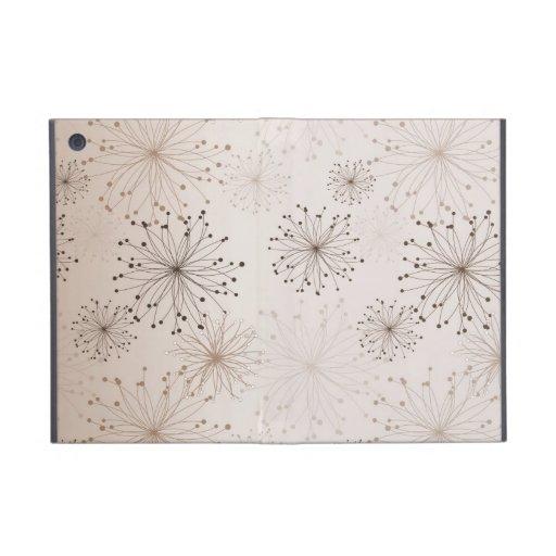 Abstract Flowers iPad Mini Cases