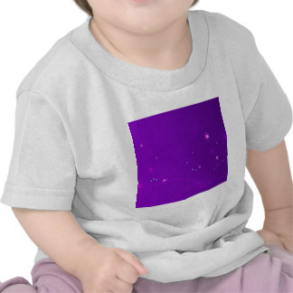 Abstract Flowers Purple Sky Shirt