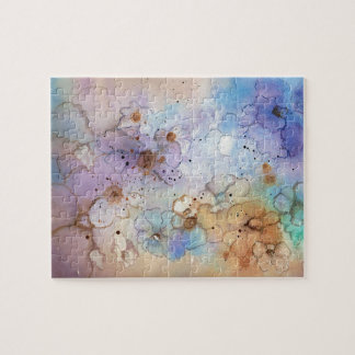 Abstract Flowers Puzzle