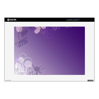 """Abstract Flowers Skins For 15"""" Laptops"""