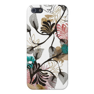 Abstract flowers Speck Case iPhone 5/5S Case