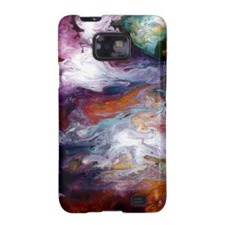 Abstract Fluid Android Case/Skin by Holly Anderson Samsung Galaxy S2 Cases