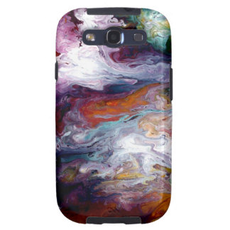 Abstract Fluid Android Case/Skin by Holly Anderson Samsung Galaxy S3 Cases