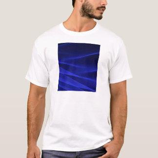 Abstract flux BLUE crimson T-Shirt
