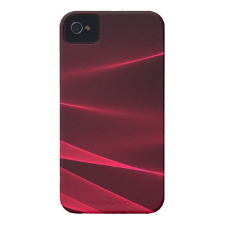 Abstract flux red crimson Case-Mate iPhone 4 case