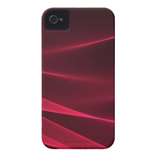 Abstract flux red crimson.jpg iPhone 4 case