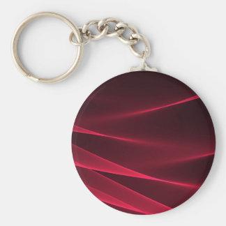Abstract flux red crimson.jpg keychain