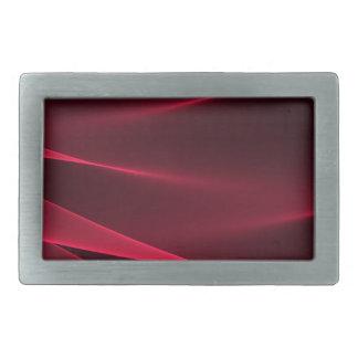 Abstract flux red crimson.jpg rectangular belt buckle