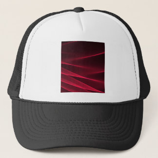 Abstract flux red crimson.jpg trucker hat
