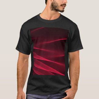 Abstract flux red crimson T-Shirt