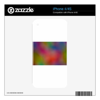 Abstract Focus art iPhone 4 Decal