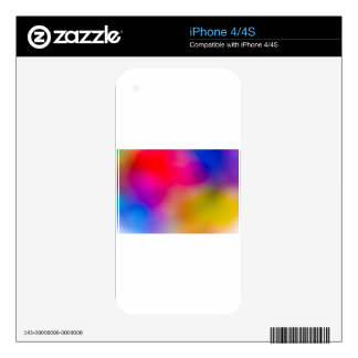 Abstract Focus art iPhone 4S Skins