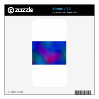 Abstract Focus art Skin For The iPhone 4S