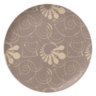 Abstract foliage.jpg party plates