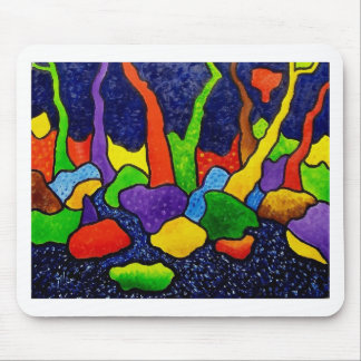 Abstract Forest 23 Mouse Pad